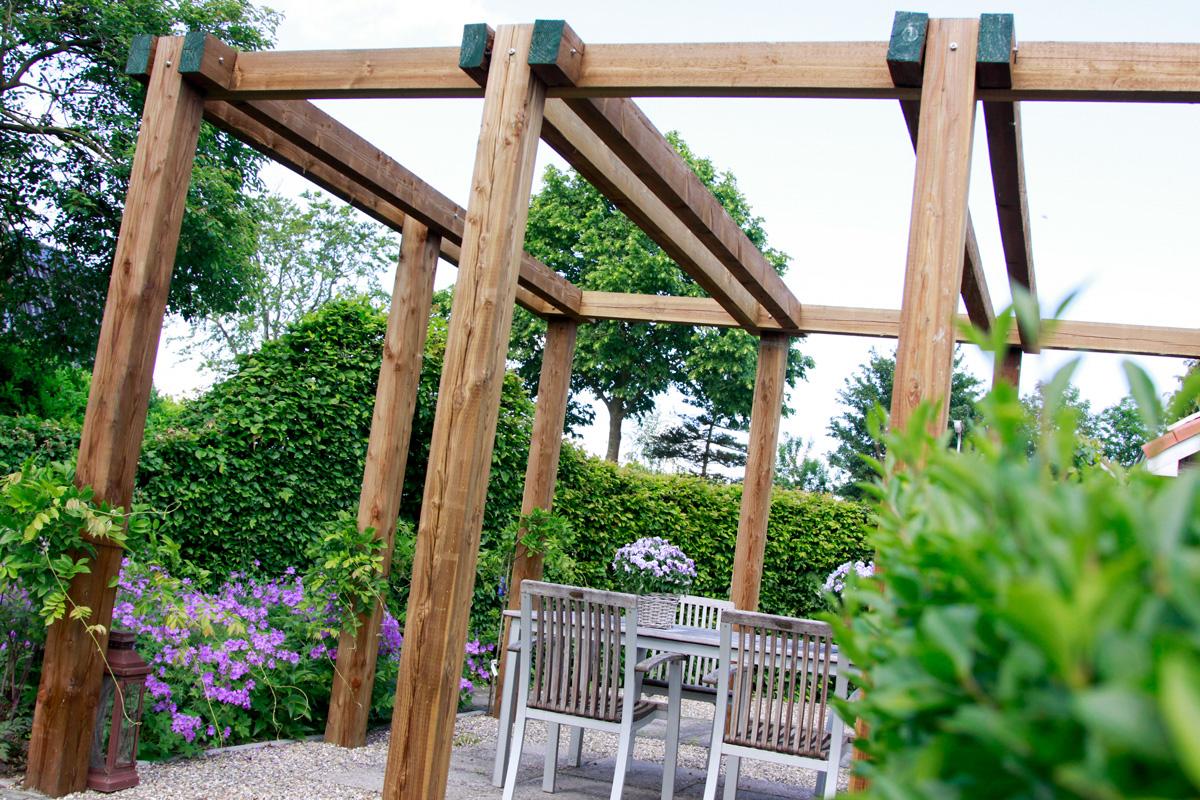 Eigentijds pergola hout veranda pergola mogelijkheden materialen