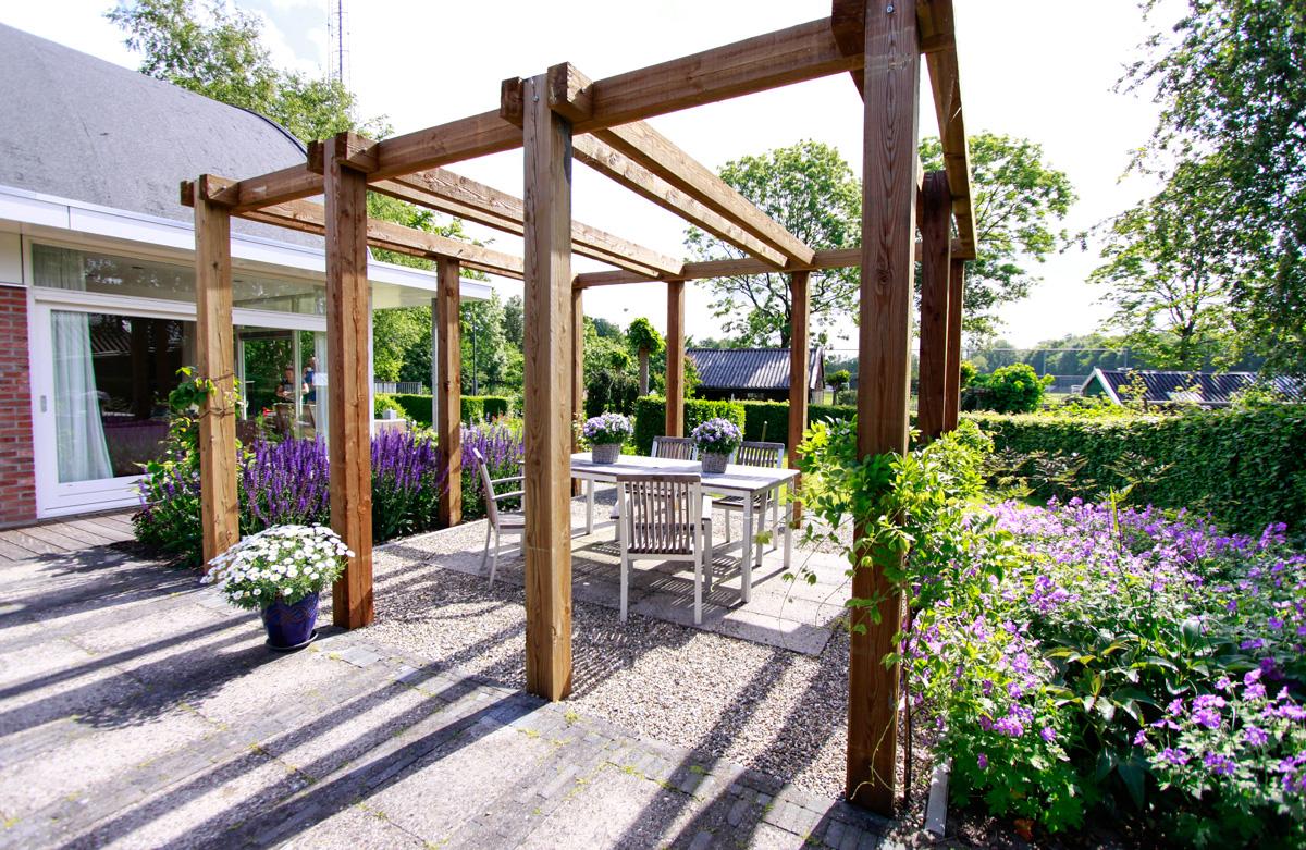 Voorbeelden tuinhuis veranda pergola tuinfoto 39 s ter inspiratie - Dakbedekking voor pergola ...